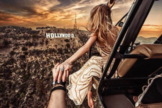 «Метаморфоза» - экскурсия по Лос-Анджелесу на автомобиле и вертолете (превью)