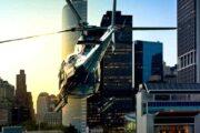 «Миссия выполнима» - полет на вертолете над ЛА с посадкой на крыше здания в Даунтауне (фото 2)