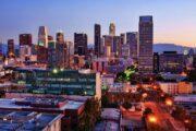«Вечерняя рапсодия» - вечерний полет над Лос-Анджелесом на вертолете (фото 4)