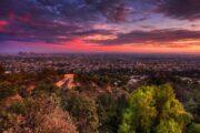«Вечерняя рапсодия» - вечерний полет над Лос-Анджелесом на вертолете (фото 6)