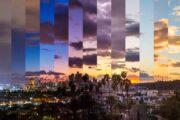 «Вечерняя рапсодия» - вечерний полет над Лос-Анджелесом на вертолете (фото 8)