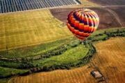 «Цвет зари» - полет на воздушном шаре над долиной Темекула, Южная Калифорния (фото 1)