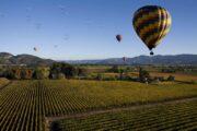 «Цвет зари» - полет на воздушном шаре над долиной Темекула, Южная Калифорния (фото 3)