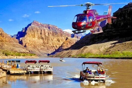 «Дело техники» - полет на вертолете от Лас-Вегаса до плотины Гувера и озера Мид (превью)