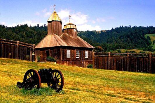 Экскурсия в первое русское поселение в Калифорнии - Форт Росс (превью)