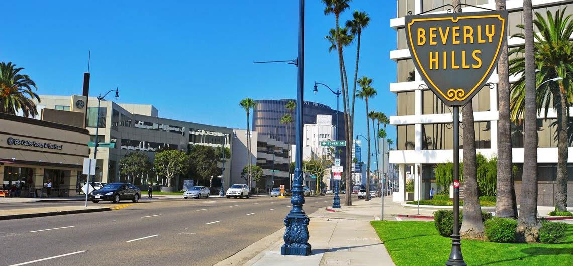 История Beverly Hills, Калифорния