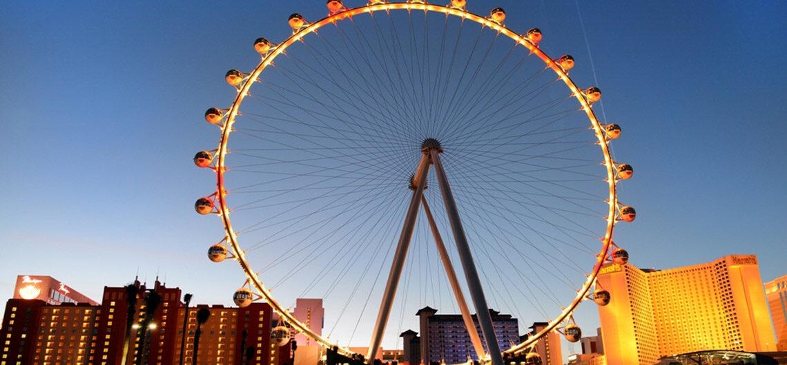 Колесо обозрения High Roller в Лас-Вегасе