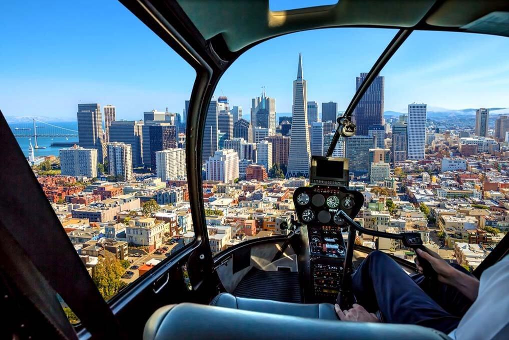 «Крупным планом» - вертолетная прогулка над Сан-Франциско (превью)