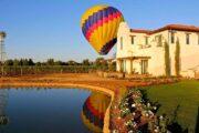«На рассвете дня» - полет на воздушном шаре над долиной Темекула + дегустация вина на винодельне (фото 8)
