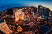 «Огни Лас-Вегас-Стрип» - Вечерний полет на вертолете над центральной улицей Лас-Вегаса (фото 8)