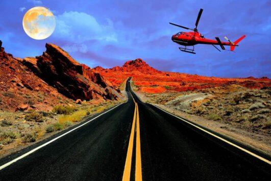 «Полет кондора» - экспресс-полет на вертолете из Лас-Вегаса в Гранд-Каньон (превью)