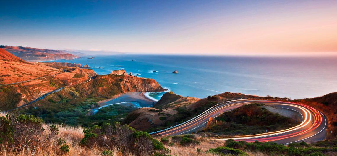 Тихоокеанское шоссе, Калифорния