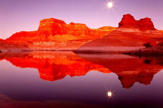 «В натуральную величину» - Тур из Лас-Вегаса по национальным паркам: Зайон, Брайс, Гранд Каньон и городу Седона (превью)