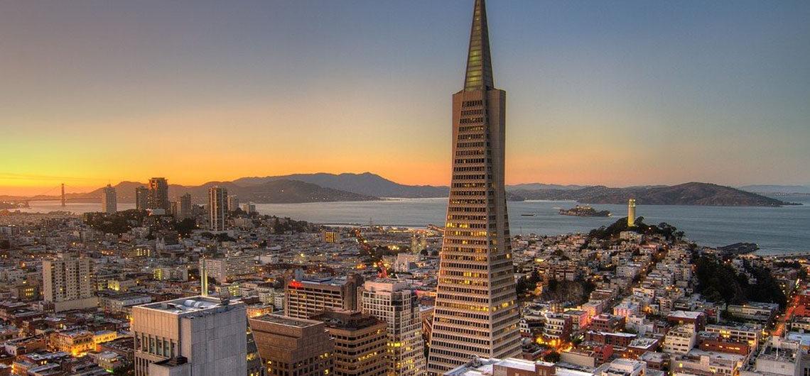 Трансамериканская пирамида в Сан-Франциско