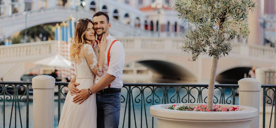 Свадьба в Лас-Вегасе, штат Невада