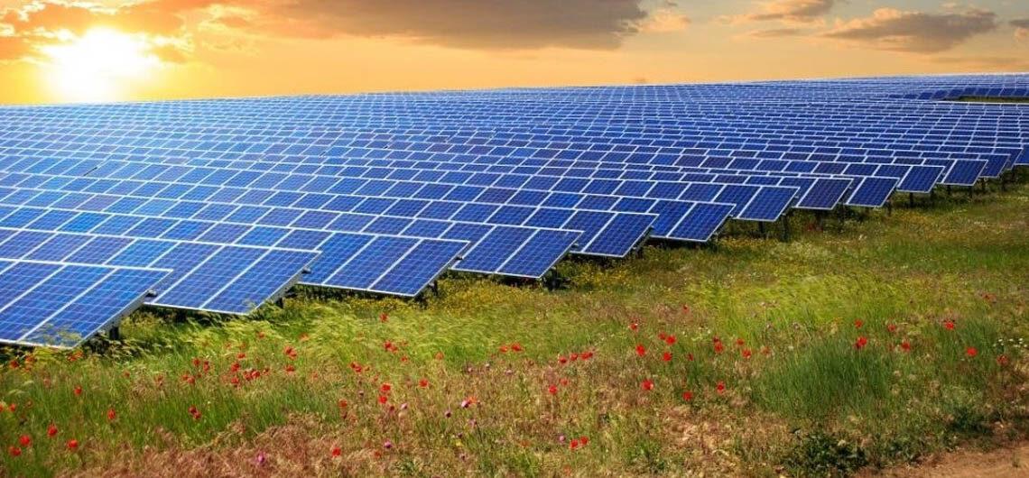 Солнечная ферма в Калифорнии