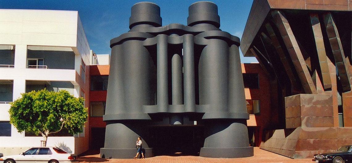 Здание-Бинокль в Лос-Анджелесе, Калифорния