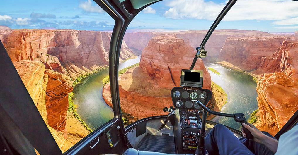 Вертолетные чартеры в США: «California Tours» (превью)